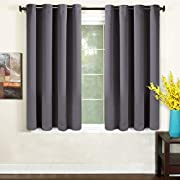 TEKAMON Blackout Curtains Thermal Insulated Room Darkening Grommet Panels for Living Room/Bedroom