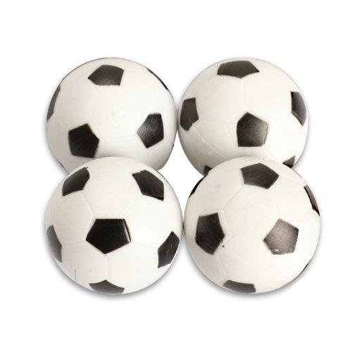 Wildlead New 4pcs 32mm Kunststoff Fussball Tabelle Foosball Kugel-Fußball Fussball