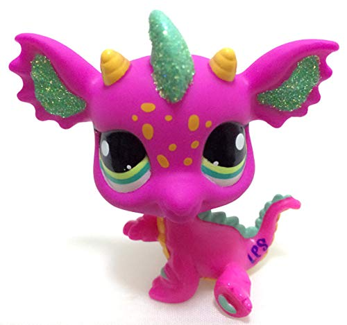Lps Littlest Pet Shop Toys Original Lps Pet Shop Toy Rare Shorthair Cat Pink Fox Big Ears Shining Lps Toy Action Figure Standing Classic Gift 6