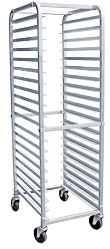 AmGood Commercial Kitchen Pan Rack - Heavy Duty, Bun Pan Sheet Rack, NSF Certified with Wheels (20 Tier Pan Rack)