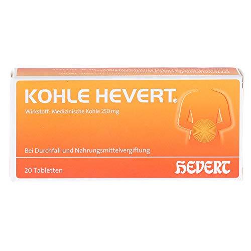 KOHLE Hevert Tabletten 20 St