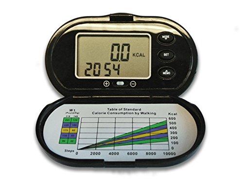 Elektronischer Schrittzähler/Pedometer, Kalorienmesser - INTERINNOV©