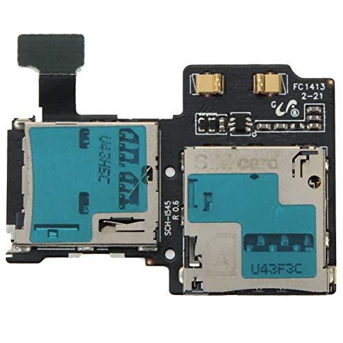 YANGJ Handy Ersatzteile SIM-Kartenslot Flexkabel for Galaxy S4 / i545