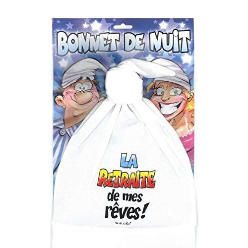 Bonnet De Nuit Retraite De Mes Rêves - Taille Unique