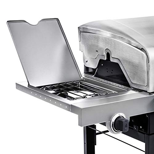 Char-Broil Performance 4-Burner LP Gas Grill, Stainless Steel