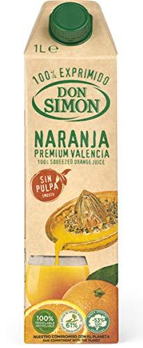 Don Simon - Zumo Naranja Exprimida sin pulpa, 1 L
