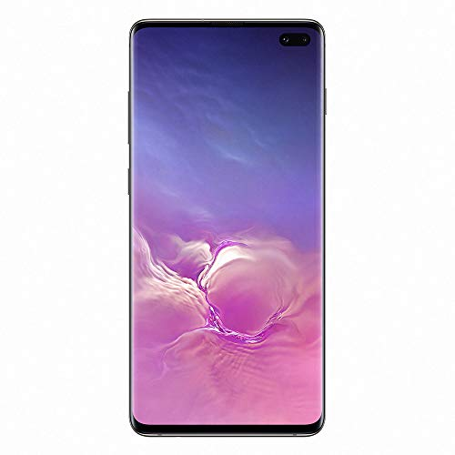 "Samsung Galaxy S10+ Smartphone, 128GB, Display 6.4"", Dual SIM,  Nero (Prism Black) [Versione Francese]"