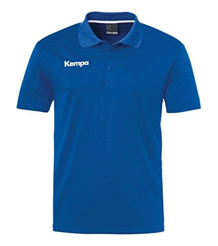 Kempa Jungen Poly Polo Shirt, Blau (royal), Gr. 152