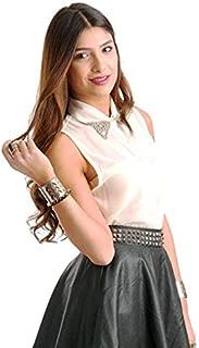 Hipster H5Csst19-M Shirt Top For Women - M