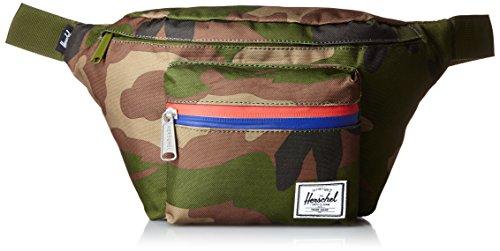 Herschel Seventeen Waist Pack, Woodland Camo/Multi Zip, 3.5L
