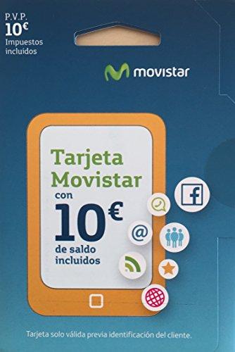 Tarjeta SIM Movistar Prepago con 10 € de saldo
