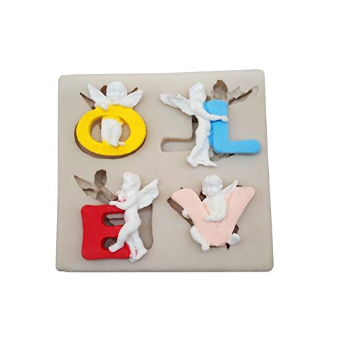 September Liefde Fondant Siliconen Mallen Cake Baking Gereedschap DIY Vloeibare Klei Vorm Chocolade Keuken Decoratie Gereedschap 2098
