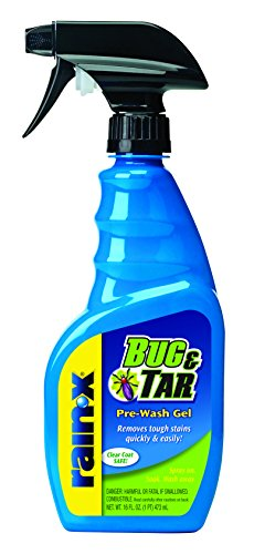 Rain-X 620107 Bug and Tar Defense Pre-Wash Gel, 16 fl. oz, 1 Pack