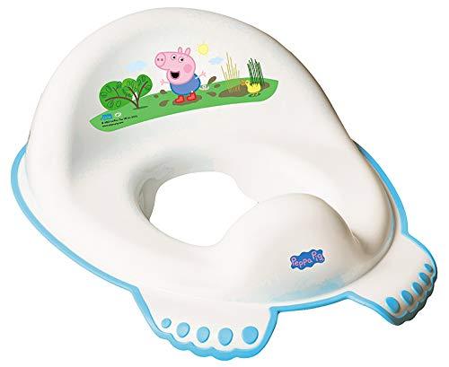 Allenamento Toilette Sedile Bimbo Bambino Bambina Vasino Sicuro Anti-scivolo Allenamento - Peppa Pig Rosa