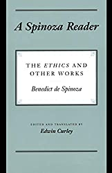 A Spinoza Reader: The Ethics and Other Works Book Cover