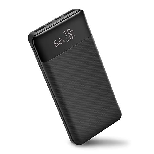 Portable Power Bank, 25000mAh/92.5Wh Power Charger with LCD Display, 18W PD USB C External Battery Pack Compatible with iPhone, Samsung Galaxy, Google Pixel, iPad Pro, Nintendo Switch and More