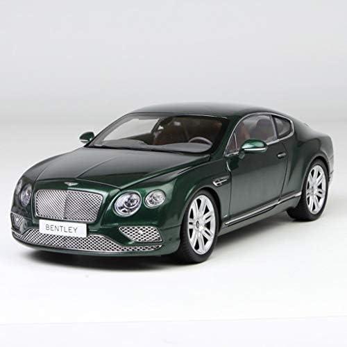 PENGJIE-Model 1 18 Simulation Metall Supersportwagen Modell Paragon Bentley Continental GT Dekoration Geschenk Geschenk (Farbe   Grün)