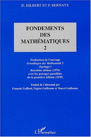 Fondements (t2) des mathematiques