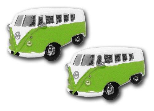 Motor Vehicle Cufflinks - CU0137GR - Boutons de manchette Homme - Rhodium plaqué