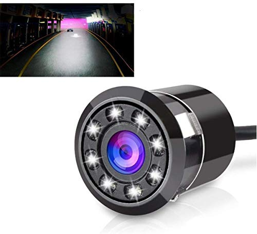 Trade B Car Rear View Reverse Parking Camera With Hd Night Vision (8 Led)    Waterproof    170 Degree Wide Angle    T-92