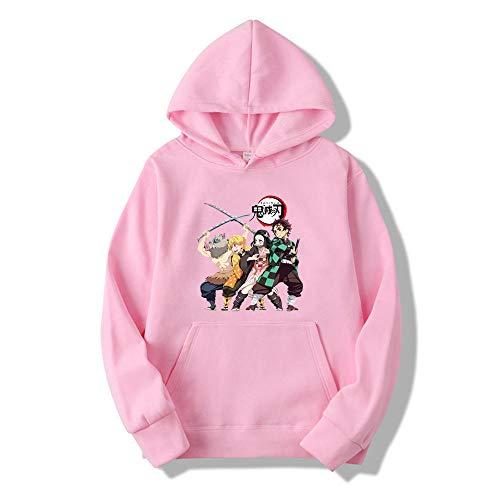 Unisex Demon Slayer Hoodie 3D Gedruckt Anime Kimetsu No Yaiba Cosplay Sportswear Sweatshirts Langarm Demon Slayer Manga Hooded Tops Hoodies-A_5XL