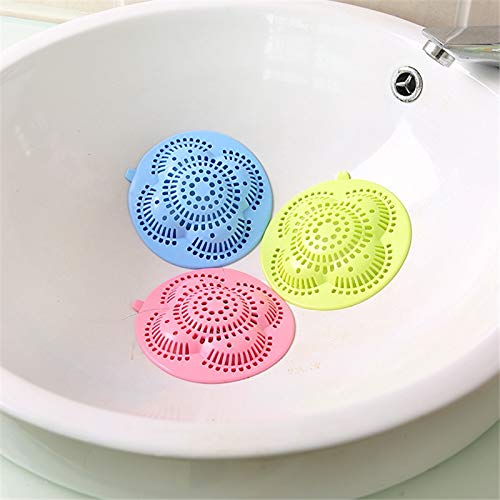SaveStore Hair Stoppers & Catchers Bathroom Hair Filter Sink Anti-Clog Floor Cover Kitchen Sewer Sewer Hair Filter