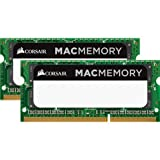 Corsair CMSA16GX3M2A1600C11 SO-DIMM Kit Apple Mac 16GB (2x8GB) (DDR3L 1600Mhz CL11 1,35V Apple Zertifizifiert)