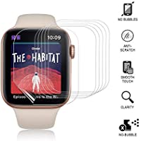6 Pack Hatalkin Screen Protector Compatible with Apple watch 4/5 44mm