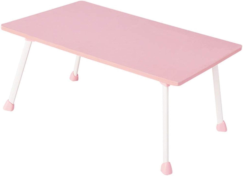 Fold Away Table -Grljd Portable Folding Table Picnic Table Desk Student Desk Laptop Desk Bed Desk Folding Table Pink Portable Camping Table
