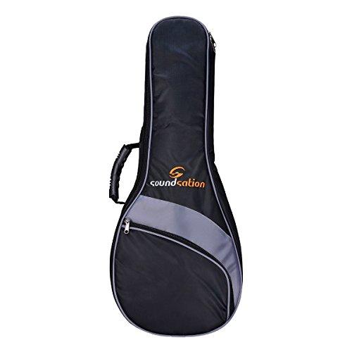 SOUNDSATION PGB 10UK Custodia per ukulele/mandolino piatto 73x 30x 12cm Nero/Grigio