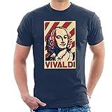 Photo de Cloud City 7 Antonio Vivaldi Retro Propaganda Men's T-Shirt