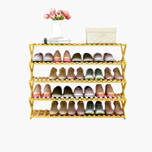 SHDS Zapatero Plegable Caja de Zapatos de múltiples Capas Zapatos económicos para el hogar Estante de Almacenamiento de gabinete Simple y Moderno Zapatero a Prueba de Polvo (tamaño: Longitud 50 c