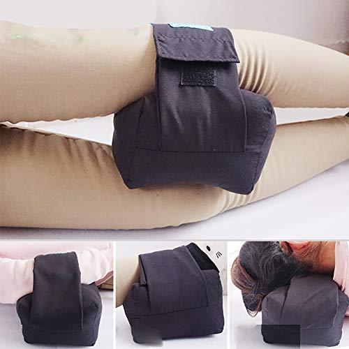 SRFDD Almohada dolorosa para la Rodilla Almohadilla Protectora del talón, alivie la presión de Las llagas y úlceras, algodón Suave Que corrige la cuña de la Almohada de la...