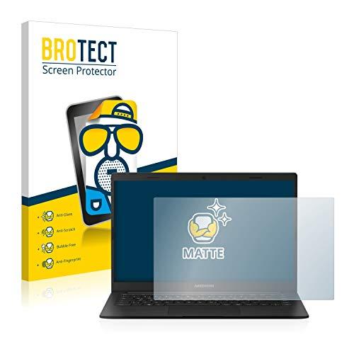 BROTECT Entspiegelungs-Schutzfolie kompatibel mit Medion Akoya E4251 Bildschirmschutz-Folie Matt, Anti-Reflex, Anti-Fingerprint