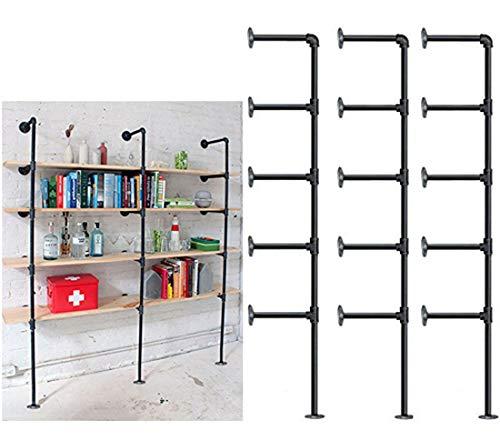 Muscle Rack UR361860PB4P-SV Silver Vein Steel Storage Rack, 4 Adjustable Shelves, 3200 lb. Capacity, 60