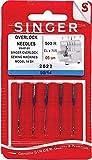 Singer Nadeln 2022für Overlockmaschine UltraLock 14SH, Größe 90/14, 5 Stück