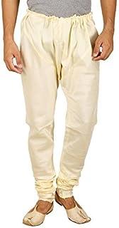 Royal Kurta Men's Silk Blend Pyjama Churidaar Breeches