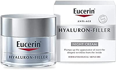 Eucerin Hyaluron Filler Anti-aging Anti-wrinkle Night Cream 50ml by Eucerin from Eucerin