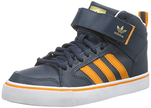 adidas Originals Herren Varial 2.0 Mid Low-Top, Blau (Midnight F15/Bright Orange/FTWR White), 40 EU