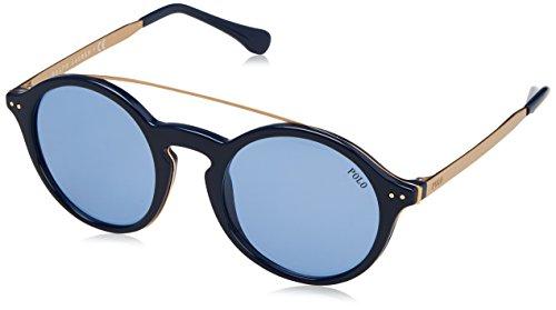 Ralph Lauren POLO 0PH4122 Gafas de sol, Shiny Navy Blue, 49 para...