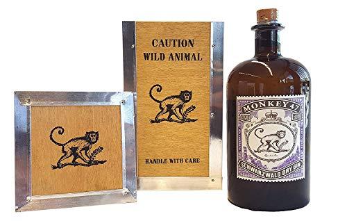 Monkey 47 Schwarzwald Dry Gin 500ml (47% Vol.) + Holzbox