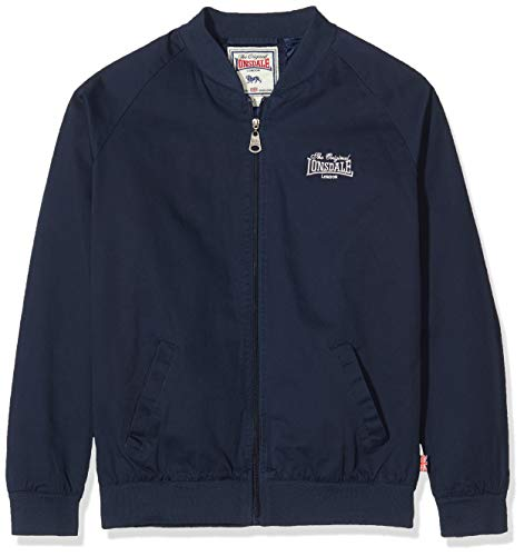 Lonsdale London Herren BORGUE Jacket, Navy, XL