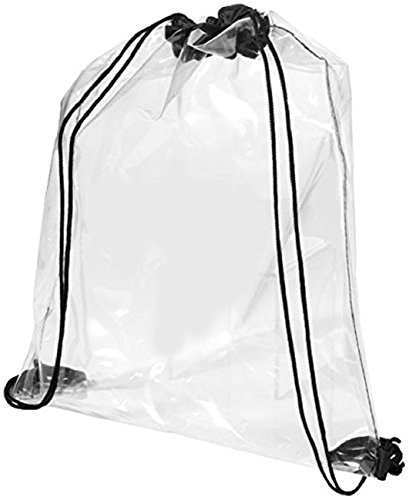 Premium Rucksack Sportbeutel Transparent Kordelzug