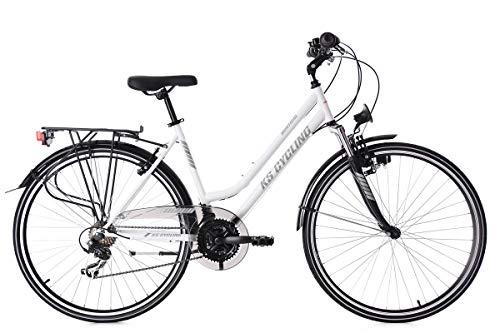 KS Cycling Trekkingrad Damen 28'' Montreal weiß RH48cm