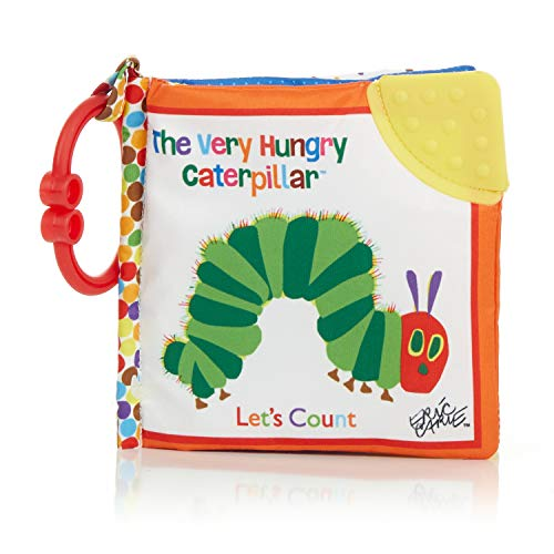 The World of Eric Carle Kids Preferred Let's Count Clip-On Book, The Very Hungry Caterpillar