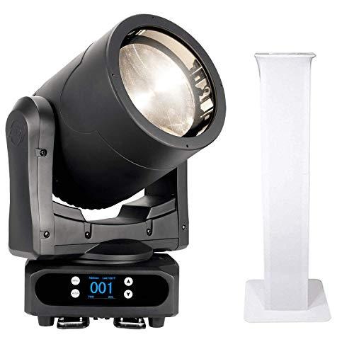 American DJ Par Z Move RGBW – Moving Head LED Wash Light + Rockville RTP32W Totem Moving Head Light Stands