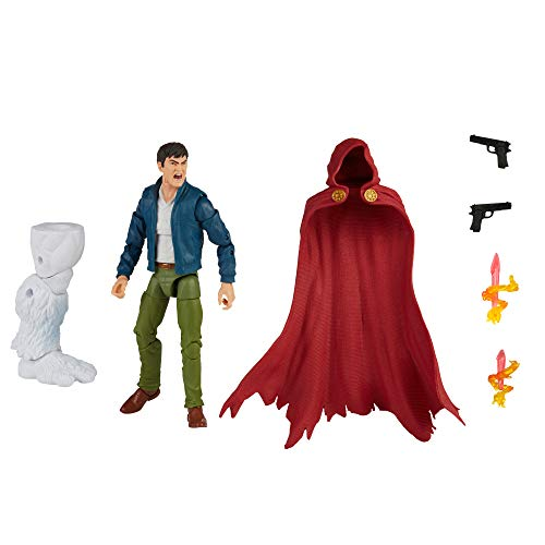 Marvel Hasbro Legends Series 6-inch Collectible Action The Hood Figure, Includes 4 Accessories and 1 Build-A-Figure Part
