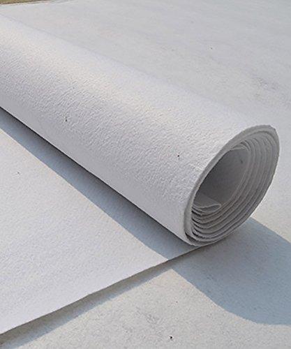QiangDa Tapis Mariage Passage D'église jetable Non-tissés, Blanc, Épaisseur 2,5 mm 10 Tailles Facultatif (Taille : 1.5m*10m)