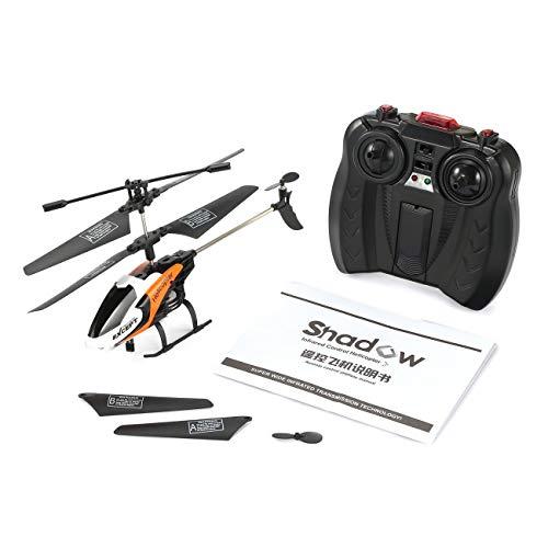 Elviray FQ777 610 Esplora RC Drone Aircraft Mini Helicopter 3CH 6-Axis Gyro Telecomando a infrarossi Giocattoli Regalo RTF