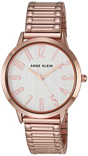 Anne Klein Reloj de pulsera de expansión para mujer.